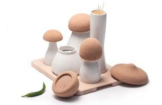 [文創設計]創意蘑菇調味罐