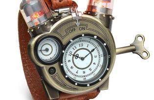 [產品設計]Tesla Watch蒸氣復古機械風手錶