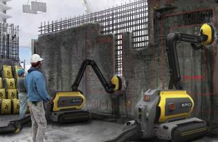 [工業設計]瑞典出品「建材回收ERO機器人」