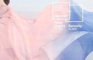 [平面設計]2016 Pantone年度色-玫瑰石英粉紅、寧靜粉藍