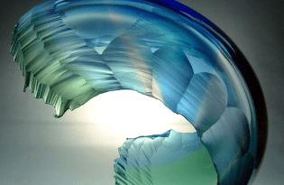 [裝置藝術]玻璃羽毛工藝品設計