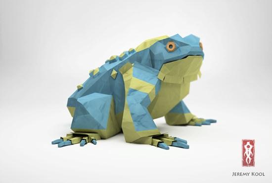 [設計工藝]Sculpture立體摺紙藝術