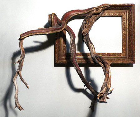[視覺傳達]畫框裝置藝術
