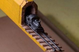 [裝置藝術]鉛筆芯雕塑設計