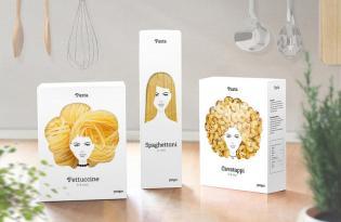[包裝設計]俄羅斯出品「髮型義大利麵行銷」