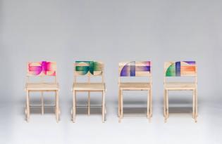 [家具設計]韓國出品「彩色魔法椅」