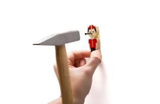 [產品設計]NAIL IT小木偶輔助釘具