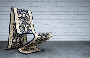 [家具設計]Carpet Chair魔毯椅