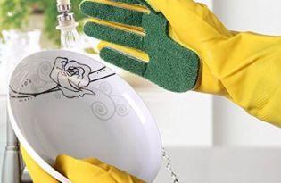 [廚具設計]Gloves Sponge Fingers海绵手套
