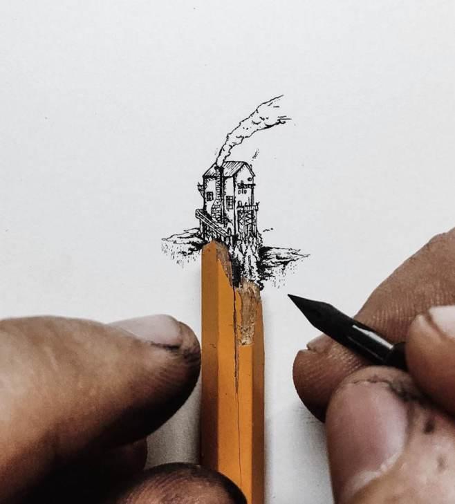 [平面設計]筆尖插畫藝術