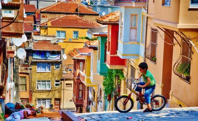 [建築設計]全球彩色村莊攝影集