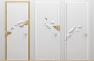 [家具設計]ISLAND Door門腳印裝置藝術