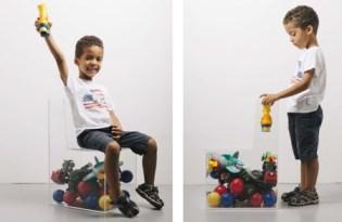[家具設計]carlo contin兒童玩具椅