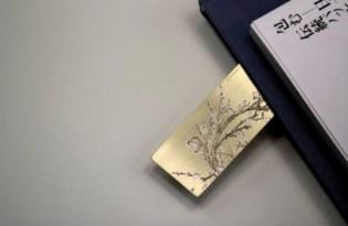 [文具設計]高質感銀飾書籤