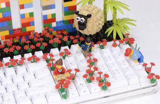 [創意設計]台灣出品「LEGO樂高模組鍵盤」