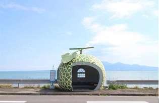 [創意建築]日本九州水果巴士站