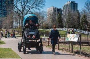 [交通工具]Coutours成人版嬰兒車