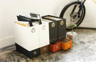 [文具設計]收納抽屜文件盒