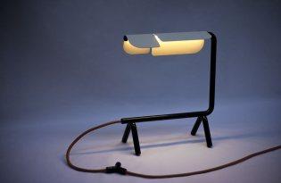 [工藝設計]Lupo Lamp光影檯燈