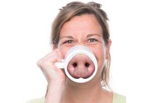 [文創設計]NOSE MUG創意動物鼻子馬克杯
