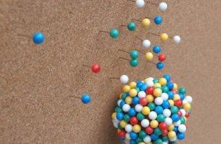 [文具設計]Balloon Pin House氣球圖釘