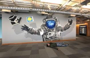 [插畫設計]瑞典出品「3D立體壁畫裝置藝術」