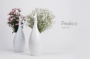 [裝置藝術]Peako Vase孔雀開屏花瓶