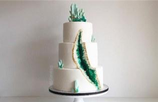 [工藝設計]Geode Cake水晶蛋糕