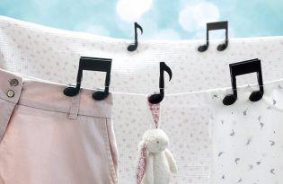 [文創設計]音符曬衣架