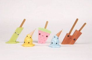 [文創設計]日本出品「冰淇淋造型蠟燭」