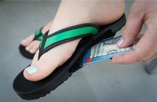[產品設計] slotflops收納式沙灘鞋