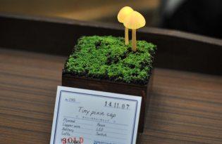 [家具設計]日本出品「森林系蘑菇桌燈裝置藝術」