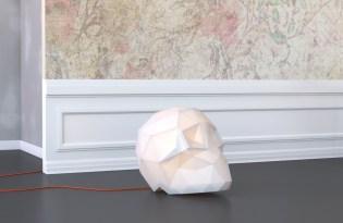 [產品設計]Edmond骷髏頭折紙燈