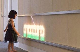 [裝置藝術]ENESS醫院病房創意互動光牆