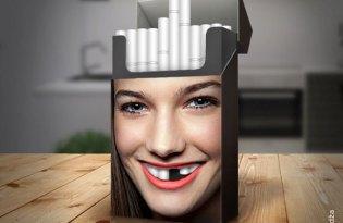 [創意行銷]禁菸香菸盒包裝設計