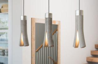 [家具設計]清水模石缝燈具