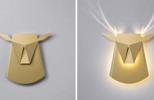 [家具設計]以色列出品「動物立體投影燈」