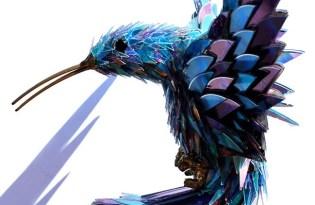 [工藝設計]澳洲出品「CD光碟動物藝術」