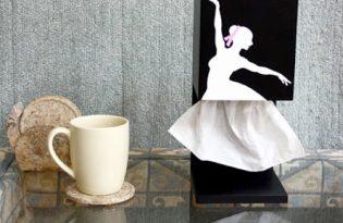 [包裝設計]優美芭蕾舞者衛生紙盒