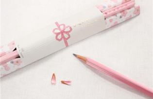 [文創設計]日本出品文具「櫻花瓣鉛筆」