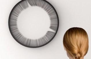 [創意設計]細毛時鐘裝置藝術