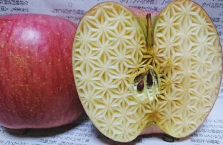 [設計工藝]蔬果雕刻裝置藝術