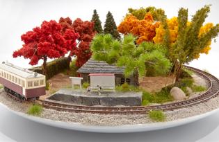 [行銷設計]創新火車盆栽裝置藝術