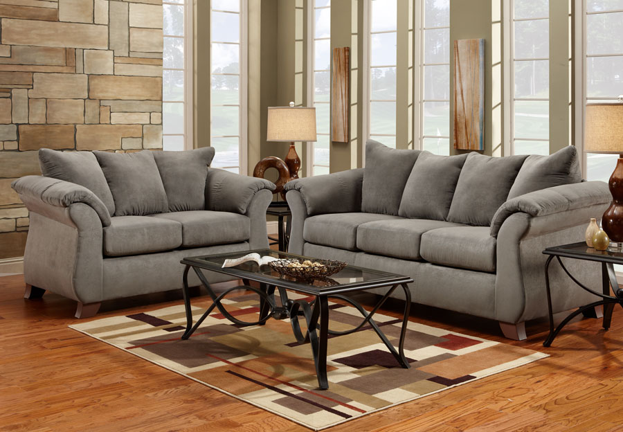 living room fabrics ideas 2018 with fireplace the furniture warehouse fabric sets inventory affordable sensations grey microfiber sofa loveseat 2pc set