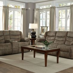 Grey Power Reclining Sofa Cama Con Abatible The Furniture Warehouse - Beautiful Home Furnishings At ...
