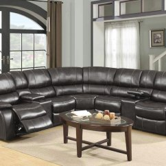 Leather Living Rooms Small Apartment Room Seating The Furniture Warehouse Sets Inventory Global Agnes Grey Reclining Sectional In Gel