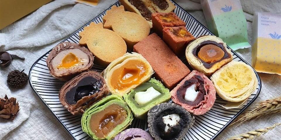 咿吉麵包坊:超吸睛!七彩繽紛的月餅,你吃過嗎? 流沙系列、麻糬系列給你驚喜感受/預購9折限期優惠中,大家快把握時間預訂