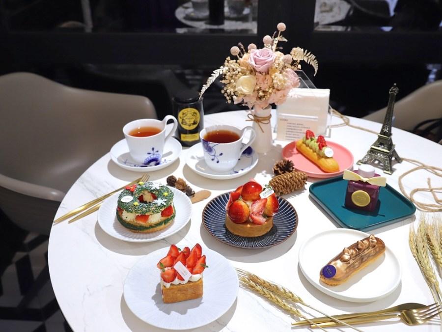 O'paris Pâtisserie 歐巴黎法式甜點:台南必吃。隱密法式藍帶甜點!成功大學宿舍社區內的藍帶主廚甜點,每日甜點不定期更換,聖誕節限定草莓系列甜點新上市 台南甜點午茶店推薦