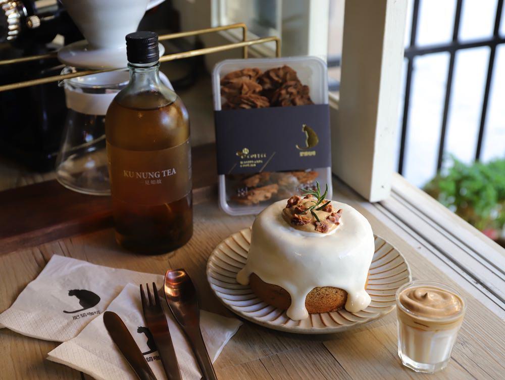 肥貓咖啡:不用飛韓國,台南神農街也能吃到400次咖啡了!還有400次咖啡戚風蛋糕~讓你吃到滿滿的咖啡甜點! 台南貓咪咖啡廳.甜點午茶推薦