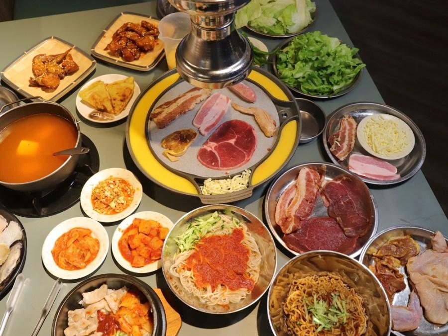 豬頭妹韓式燒肉:新開幕韓式燒肉只要299元起就能燒肉.韓式料理吃到飽/壽星禮.四人用餐當日壽星免費招待.當月九折優待/台南吃到飽餐廳推薦
